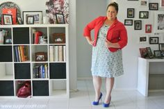 plus size floral dress with blazer, plus size fashion, plus size, plus-size, outfit of the day, ootd, curvy, curvette, Melissa Walker Horn, Suger Coat It, Queensland, Australia