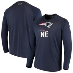 Nfl New England Patriots, Wetsuit, Under Armour, Navy, Swimwear, Mens Tops, T Shirt, Clothes, Shopping