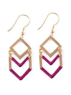 Seriously chic. #MataTraders #jewelry #handmade