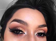 Neutral colors eyeshadow makeup IG: @Vmariexoxo_