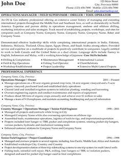 click here to download our drilling resume sample httpwwwresumetarget - Finance Resume Sample