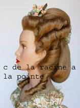 Coiffures Historiques - good pictures and line drawings of all eras! In French, but awesome! There are hairstyles for all time periods, starting in BC!