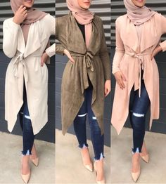Fashion Tips To Help You Look Great – Designer Fashion Tips Hijab Fashion Summer, Modern Hijab Fashion, Modesty Fashion, Islamic Fashion, Muslim Fashion, Stylish Hijab, Casual Hijab Outfit, Hijab Chic, Capsule Wardrobe Women