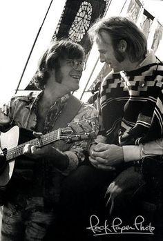 John B. Sebastian and Stephen Stills (CSN&Y) - Woodstock Generation!