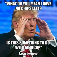 Happy Thursday :) #trump #poker #pokerlife #trumpcard #MAGA