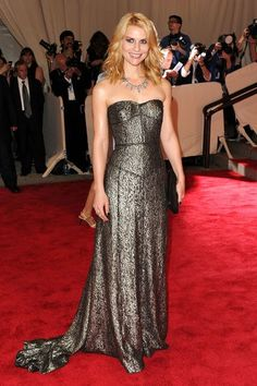Claire Danes in Burberry