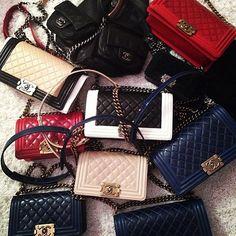 Chanel boybags
