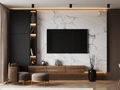 Tv Unit Furniture Design, Tv Unit Interior Design, Hall Interior, Living Tv, Living Room Wall Units, Living Room Tv Unit Designs, Tv Cabinet Wall Design, Tv Wall Design, Modern Tv Room