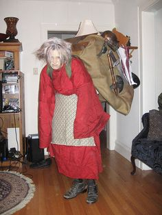 Junk Lady costume from the Labyrinth