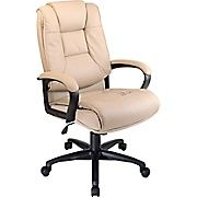 Shop Staples® for Office Star™ Leather Executive High-Back Chair, Tan. Enjoy everyday low prices and get everything you need for a home office or business.