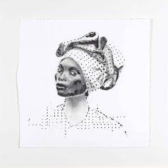 F3 - I (Fabulous Femme Forte) - 2015  - inkt, charcoal - 360*360