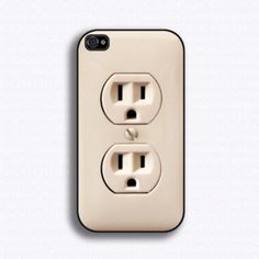 Plug phone case.