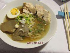 Kuřata - Ramen • Recept weltinmir.de