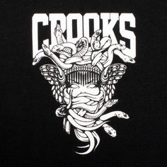 "Crooks and Castles "" In some of our designs you might see a familiar icon or logo that we took (stole) and gave it our own twist. We felt that some high fashion brands only catered to someone in a certain lifestyle or with a rather large bank account. Therefore we took what they made and crafted it to fit ours. In all honesty… who cares. We just really wanted to make some… Hot Shit!"""