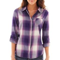 Arizona Plaid Shirt found at College Girl Fashion, College Girls, Teen Fashion, Plaid, Arizona, Teen Style, Clothes, Tops, Christmas Ideas