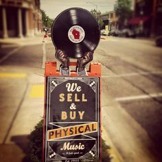 Physical music - aka vinyl records