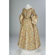 Dress 1836-1840 Great Britain