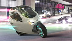 Lit Motors self balancing electric motorcycle in testing phase