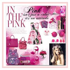 """""""Dans Le Rose"""" by mockingjay101 ❤ liked on Polyvore featuring Marc Jacobs, Vera Bradley, Matthew Williamson, Kate Spade, Converse, Valentino, PhunkeeTree, Yves Saint Laurent, Lux-Art Silks and Speck"""