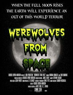 We are going to be bulk buying 1 Variation of our Werewolves from Space poster that we can giveaway 10 copies and sell for half the price of others. This will be a full movie size of 24x36 and will be available for pre-order once we figure out the best one. Werewolves from Space is being Created by RDMProductions - https://www.facebook.com/WerewolvesFromSpace?fref=ts https://shop.horrorfanz.com Art design by Jason Parrott of Www.Horrorfanz.com and https://shop.horrorfanz.com