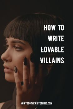 3 Tips How to Write Lovable Villains. Looking for ideas and inspiration for writing villains that your audience could like and fall in love with. Writing Promps, Book Writing Tips, Script Writing, Writing Characters, Writing Words, English Writing, Fiction Writing, Teaching Writing, Better Writing