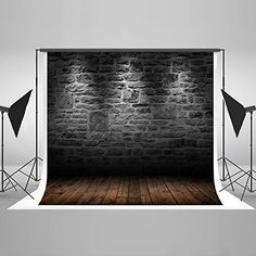 6.5x5ft Vintage Brick Wall Photography Backdrops Photo St...