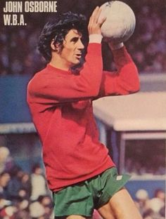 John Osbourne West Bromwich Albion 1976