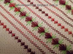 Casabella Artesanato: toalhas no ponto ilhos