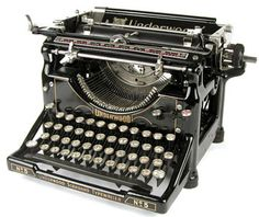 I just think they are way interesting.  I wonder what it would be like to journal with a typewriter?