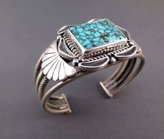 Square Turquoise Stone Silver  jewelry shopping at online.