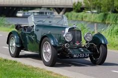 ASTON MARTIN MKII SHORT CHASSIS 1934