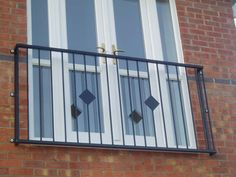 french doors with side lites and juliet balcony Juliette balcony Juliette Balcony, Iron Balcony, Balcony Doors, Bannister, Railings, French Balcony, Waiting Area, Wrought Iron, French Doors