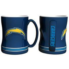 San Diego Chargers NFL Coffee Mug - 15oz Sculpted (Single Mug)
