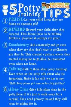 5 potty training tips