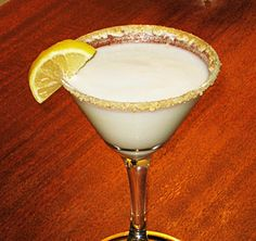 Lemon Meringue Martini. Pucker those lips up kids…it's lemony and sassy:) Cheers!