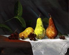 """20 x 16 Oil on Canvas """"Three of a Kind"""" - Still Life - JL Morris"""