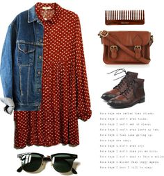 I feel like this is what little orphan Annie would wear today! I love it :)