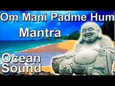 MANTRA FOR SLEEP - Om mani padme hum mantra 8 hour full night meditation ocean sound