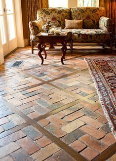 Wood With Tile Inlay Design Ideas, Pictures, Remodel and Decor