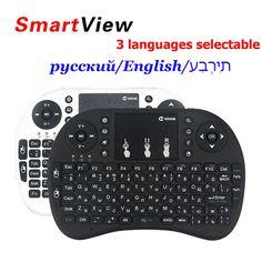 원래 정상 및 백라이트 i8 미니 무선 키보드 러시아어 영어 히브리어 3 에어 마우스 xBox360 노트북 태블릿