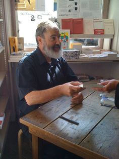 Marc-Alain Ouaknin - author of a fascinating book entitled: Lire aux Eclats - Eloge de la caresse.