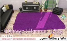 Annett's Sims 4 Welt: Vintage Glamour Rugs