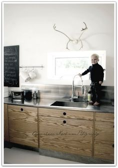emmas designblogg - design and style from a scandinavian perspective - love the metal counters. this website has great ideas.
