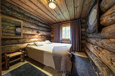 UnelmaVeska kelomökki makuuhuone alakerta