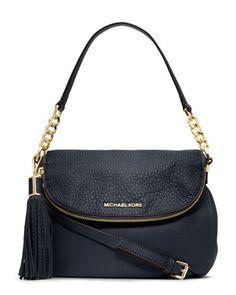 MICHAEL Michael Kors Medium Bedford Tassle Convertible Shoulder Bag. pretty good!!