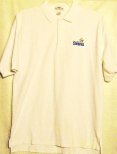 FREE U.S. Shipping! Antigua Dallas Cowboys Casual Polo Shirt! Size: Adult Large. #Antigua #DallasCowboys