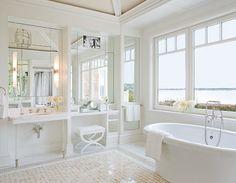 284 best white bathrooms images on pinterest quartos bathroom and