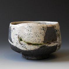 Akira Satake chawan 33 (hikidashi) 織部、志野、瀬戸黒、黄瀬戸、美濃焼きでこれをを作った可能性あり
