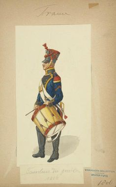 French; Engineers, Drummer 1806