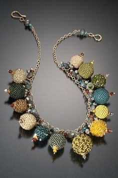 beaded jewelry @Anna Totten Totten Terry